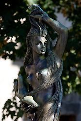 Statue in San Marino, on October 13, 2009, in San Marino,  San Marino.  (Photo by Vid Ponikvar / Sportida)