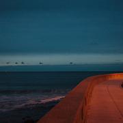Today's winter Sunrise  at Narragansett Town Beach, Narragansett, RI,  December 24, 2013. #beach #sunrise #rhodeisland