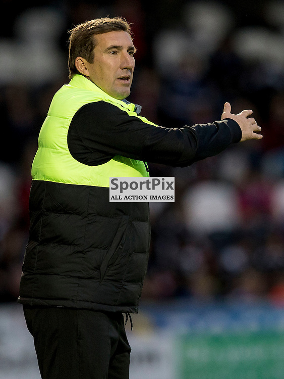 Alan Stubbs (Hibernian Manager) during the Ladbrokes Championship match between St Mirren v Hibernian at St Mirren Park on Saturday 7 November 2015<br /> <br /> Picture: Alan Rennie