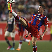 Robert Lewandowski, FC Bayern Munich, in action during the FC Bayern Munich vs Chivas Guadalajara, Audi Football Summit match at Red Bull Arena, New Jersey, USA. 31st July 2014. Photo Tim Clayton