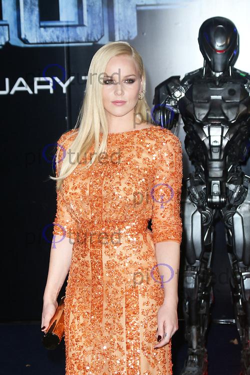Abbie Cornish, RoboCop - World film premiere, BFI IMAX, London UK, 05 February 2014, Photo by Richard Goldschmidt