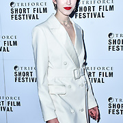 Chanel Joan Elkayam attend TriForce Short Festival, on 30 November 2019, at BFI Southbank, London, UK.