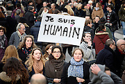 REPUBLICAN MARCH IN PARIS ON TERRORISM - AT LEAST 2 MILLION PROTESTERS GATHERED<br /> ©Exclusivepix Media