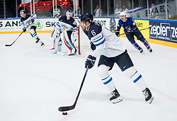 Topi Jaakola of Finland during the 2017 IIHF Men's World Championship group B Ice hockey match between National Teams of Finland and France, on May 7, 2017 in Accorhotels Arena in Paris, France. Photo by Vid Ponikvar / Sportida