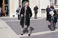 Roma 16 Marzo2013.Montecitorio, secondo giorno della  XVII legislatura..Mario Marazziti, deputato Scelta Civica per l'Italia.