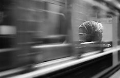 B&W Film Street and Trains
