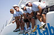 ITALY, Sardinia, Cagliari, AUDI MedCup, 25th July 2009,  Autonomous Region of Sardinia Trophy, TP52, Race 10, Cristabella.