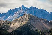 Golden Horn in the North cascades, Washington, USA.