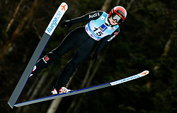 Pauline Hessler of Germany soaring through the air during 1st Round at Day 1 of World Cup Ski Jumping Ladies Ljubno 2019, on February 8, 2019 in Ljubno ob Savinji, Slovenia. Photo by Matic Ritonja / Sportida