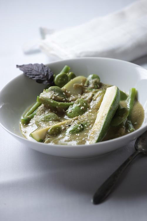 A mexican vegetable stew from Oaxaca, Una sopa de verduras de Oaxaca. Recipe Available, Receta Disponible.