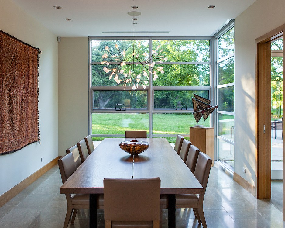 Dining Room. Sonoma private Residence. Commercial Architectural and Interiors.<br /> Portraits of homeowners in the Bay Area.