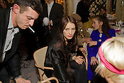 JONATHAN SAUNDERS; Roksanda Ilincic; AGYNESS DEYN. Kate Grand hosts a Love Tea and Treasure hunt at Flash. Royal Academy. Burlington Gardens. London. 10 december 2008 *** Local Caption *** -DO NOT ARCHIVE-?&#Copyrightright Photograph by Dafydd Jones. 248 Clapham Rd. London SW9 0PZ. Tel 0207 820 0771. www.dafjones.com.<br />