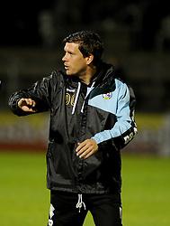 Bristol Rovers Manager Darrell Clarke - Mandatory byline: Neil Brookman/JMP - 07966 386802 - 06/10/2015 - FOOTBALL - Memorial Stadium - Bristol, England - Bristol Rovers v Wycombe Wanderers - JPT Trophy