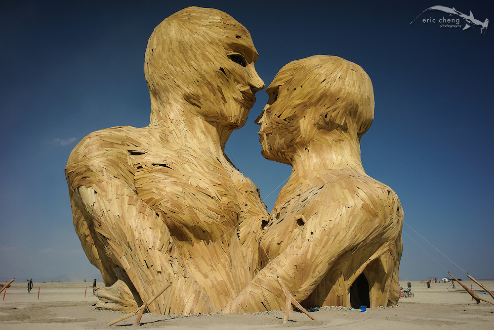 Embrace is absolutely stunning. Burning Man 2014