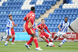 Jake Hesketh of Milton Keynes Dons passes the ball - Mandatory by-line: Arron Gent/JMP - 27/04/2019 - FOOTBALL - JobServe Community Stadium - Colchester, England - Colchester United v Milton Keynes Dons - Sky Bet League Two
