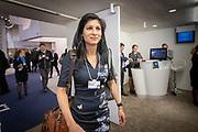 The Indian-American economist Gita Gopinath at the annual World Economic Forum in Davos.