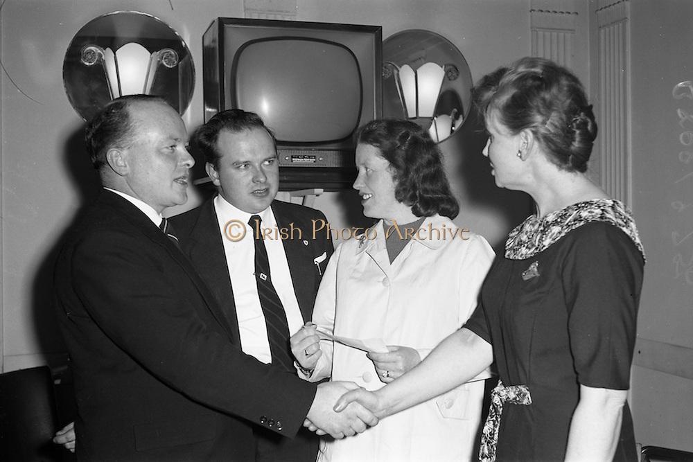 17/04/1961<br /> 04/17/1961<br /> 17 April 1961<br /> A.E.I. Gala Ltd. press reception at the Gresham Hotel Dublin.