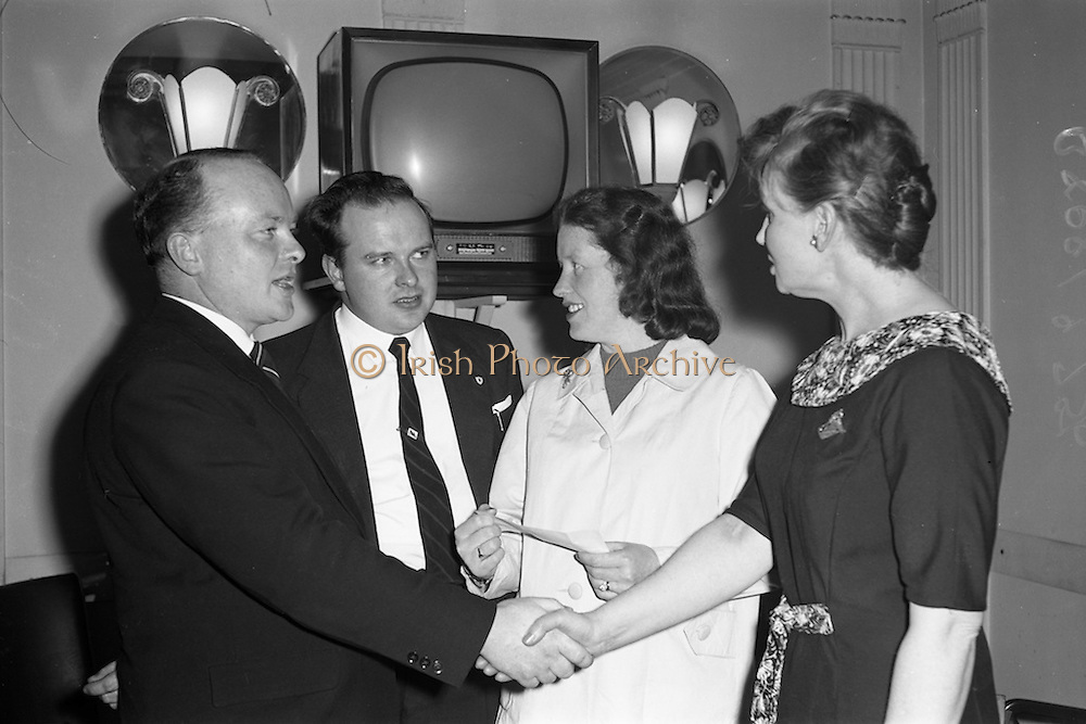 17/04/1961<br /> 04/17/1961<br /> 17 April 1961<br /> A.E.I. Gala Ltd. press reception at the Gresham Hotel Dublin.