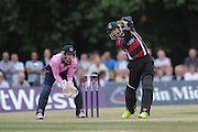 Peter Trego Batting during the NatWest T20 Blast South Group match between Middlesex County Cricket Club and Somerset County Cricket Club at Uxbridge Cricket Ground, Uxbridge, United Kingdom on 26 June 2015. Photo by David Vokes.