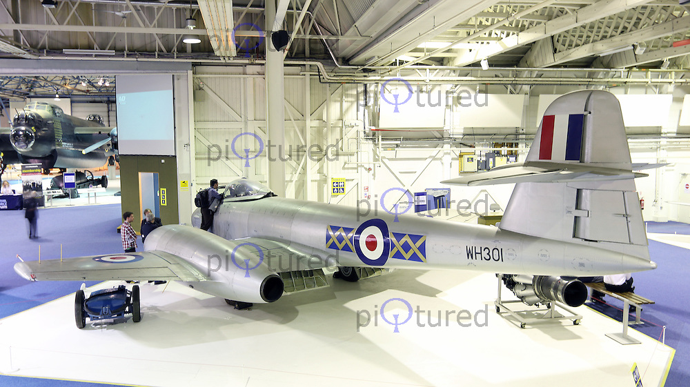 Gloster Meteor F8 WH301, Royal Air Force Museum Hendon - Open Cockpits, 11 March 2014, Photo by Richard Goldschmidt