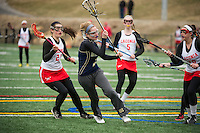 Laconia girls varsity Lacrosse scrimmage.  Karen Bobotas/ for the Laconia Daily Sun