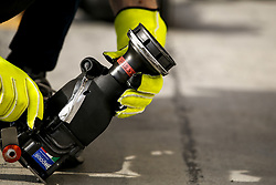 March 30, 2019 - Sakhir, Bahrain - Motorsports: FIA Formula One World Championship 2019, Grand Prix of Bahrain, ..Pit stop tools  (Credit Image: © Hoch Zwei via ZUMA Wire)