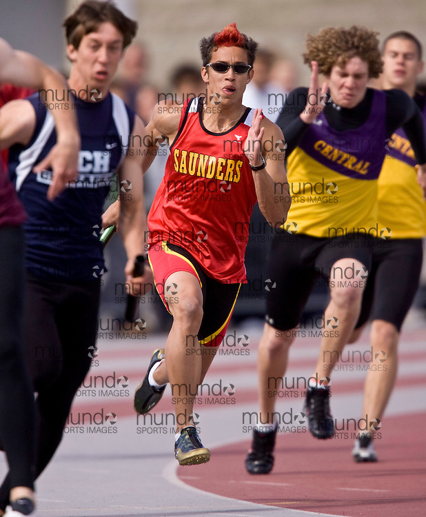 London, Ontario ---22/05/08--- WOSSAA 2008 Track and Field.GEOFF ROBINS /