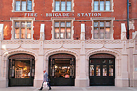 Ex Chiltern street fire brigade station turned into Chiltern Firehouse restaurant with chef Nuno Mendes at the helm.