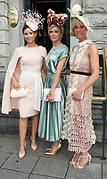 03/08/2017   Repro free  Laura Honan, Gort, Jacinta McDonagh Galway City  and Eileen Lundon Gort at Hotel Meyrick for Galway's 'Most Stylish Lady' Competition, at a glamorous evening reception in the Parlour Lounge of Hotel Meyrick on Ladies Day of the Galway Races. Head judge this year was the stunning Lorraine Keane,  assisted by fellow fashion experts Mandy Maher,owner of Catwalk Modelling Agency and Irish model Mary Lee  .  Photo: Andrew Downes, xposure