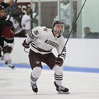 Hamline vs Augsburg Men's Hockey. Jeff Lawler, d3photography.com
