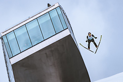 22.02.2019, Bergiselschanze, Innsbruck, AUT, FIS Weltmeisterschaften Ski Nordisch, Seefeld 2019, Skisprung, Herren, im Bild Junshiro Kobayashi (JPN) // Junshiro Kobayashi of Japan during the men's Skijumping of FIS Nordic Ski World Championships 2019. Bergiselschanze in Innsbruck, Austria on 2019/02/22. EXPA Pictures © 2019, PhotoCredit: EXPA/ Dominik Angerer