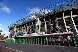 General view of the stadium ahead of the Quilter International match at Twickenham Stadium, London.