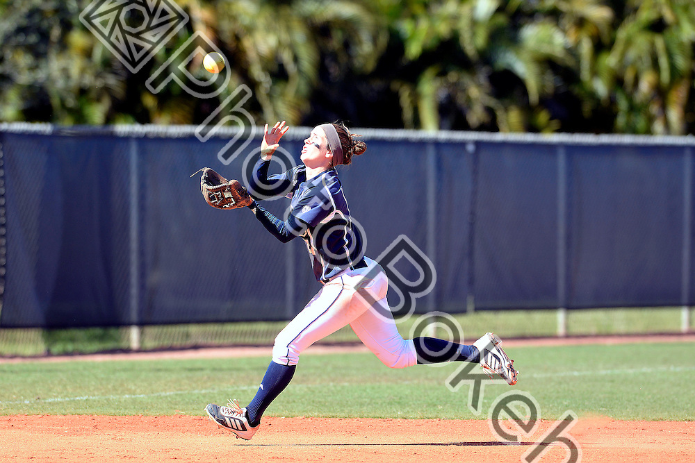 2014 February 16 - FIU's Rachel Slowik (17). Florida International University defeated Georgia Southern, 2-0, at the FIU Softball Complex, Miami, Florida. (Photo by: Alex J. Hernandez / photobokeh.com) This image is copyright by PhotoBokeh.com and may not be reproduced or retransmitted without express written consent of PhotoBokeh.com. ©2014 PhotoBokeh.com - All Rights Reserved