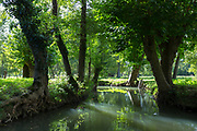 The Marais Poitrevin canal and marshland region a Grand Site de France