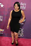 "October 13, 2012- Bronx, NY: Recording Artist Cheryl "" Salt "" James of ' Salt N Pepa'  at the Black Girls Rock! Awards Red Carpet presented by BET Networks and sponsored by Chevy held at the Paradise Theater on October 13, 2012 in the Bronx, New York. BLACK GIRLS ROCK! Inc. is 501(c)3 non-profit youth empowerment and mentoring organization founded by DJ Beverly Bond, established to promote the arts for young women of color, as well as to encourage dialogue and analysis of the ways women of color are portrayed in the media. (Terrence Jennings)"
