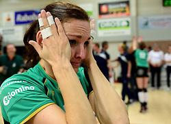 12-04-2014 NED: Finale vv Alterno - Sliedrecht Sport, Apeldoorn<br /> Alterno pakt het kampioenschap door Sliedrecht voor de derde maal te verslaan / Barbara Knap