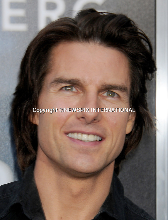 """TOM CRUISE.attends the Los Angeles Premiere of """"Super 8"""" at the Regency Village Theater on June 8, 2011, Westwood, California.Mandatory Photo Credit: ©Crosby/Newspix International. .**ALL FEES PAYABLE TO: """"NEWSPIX INTERNATIONAL""""**..PHOTO CREDIT MANDATORY!!: NEWSPIX INTERNATIONAL(Failure to credit will incur a surcharge of 100% of reproduction fees)..IMMEDIATE CONFIRMATION OF USAGE REQUIRED:.Newspix International, 31 Chinnery Hill, Bishop's Stortford, ENGLAND CM23 3PS.Tel:+441279 324672  ; Fax: +441279656877.Mobile:  0777568 1153.e-mail: info@newspixinternational.co.uk"""