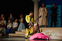 Bye Bye Birdie dress rehearsal with Gilford Middle School.  Karen Bobotas for the Laconia Daily Sun