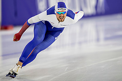 12-11-2017 NED: ISU World Cup, Heerenveen<br /> 1000m - Denis Yuskov RUS