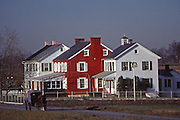 Gros dawdi haus, Three houses-in-one Amish family homes, Lancaster, PA