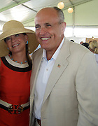 Rudolf Giuliani and wife Judith Nathan.Classic Horse Show.Bridgehampton, NY, USA.Sunday, September, 02, 2007.Photo By Celebrityvibe; .To license this image please call (212) 410 5354 ; or.Email: celebrityvibe@gmail.com;.