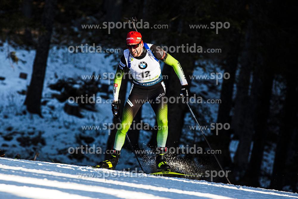 Jakov Fak (SLO) during the Men 20 km Individual Competition at day 1 of IBU Biathlon World Cup 2019/20 Pokljuka, on January 23, 2020 in Rudno polje, Pokljuka, Pokljuka, Slovenia. Photo by Peter Podobnik / Sportida
