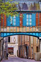 France, Saône-et-Loire (71), Chalon-sur-Saône, rue de l'Oratoire // France, Saône-et-Loire (71), Chalon-sur-Saône, Oratoire street