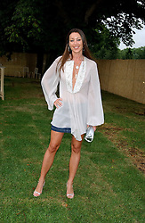 Owner of Jimmy Choo TAMARA MELLON at the annual Serpentine Gallery Summer Party co-hosted by Jimmy Choo shoes held at the Serpentine Gallery, Kensington Gardens, London on 30th June 2005.<br /><br />NON EXCLUSIVE - WORLD RIGHTS