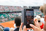 Ambiance during the Roland Garros French Tennis Open 2018, day 8, on June 3, 2018, at the Roland Garros Stadium in Paris, France - Photo Pierre Charlier / ProSportsImages / DPPI