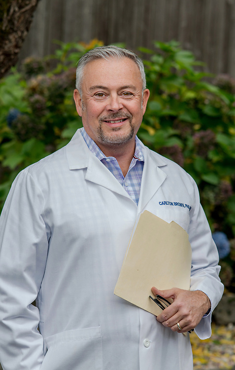 Portrait of Carl Brown for Oncology Nursing Society