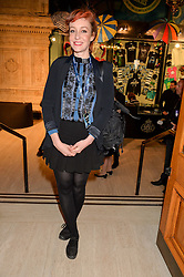KATE ROTHSCHILD at the opening night of Amaluna by Cirque Du Soleil at The Royal Albert Hall, London on 19th January 2016.