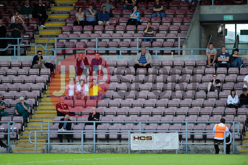 An empty ground at the Sixfields Stadium at the Coventry City V Bristol City game  - Photo mandatory by-line: Dougie Allward/JMP - Tel: Mobile: 07966 386802 11/08/2013 - SPORT - FOOTBALL - Sixfields Stadium - Sixfields Stadium -  Coventry V Bristol City - Sky Bet League One