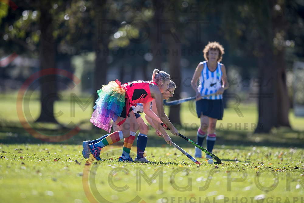 GOLDEN OLDIES FESTIVAL OF SPORT HOCKEY<br /> HINEMOA HUSTLERS<br /> 20180416<br /> CRAIG MIDDLETON<br /> Photo CRAIG MIDDLETON CMG SPORT ACTION IMAGES<br /> &copy;cmgsport2018