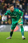 Derby County goalkeeper Ben Hamer during the EFL Sky Bet Championship match between Derby County and Hull City at the Pride Park, Derby, England on 18 January 2020.
